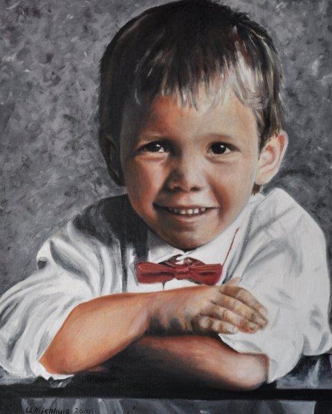 Kommunionskind, Gemälde